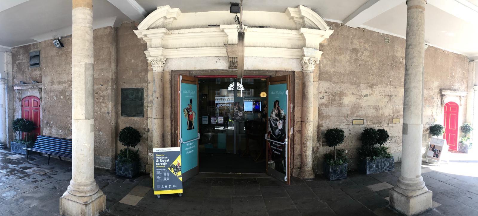 Windsor museum entrance